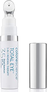 Colorescience Total Eye 3-in-1 Renewal Therapy Anti-Aging Wrinkles Dark Circles SPF 35 Luxury beauty
