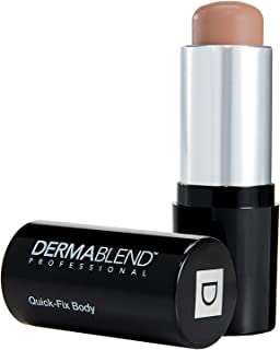 Dermablend Quick-Fix Body Makeup Full Coverage Foundation Stick, 50C Honey, 0.42 Oz.