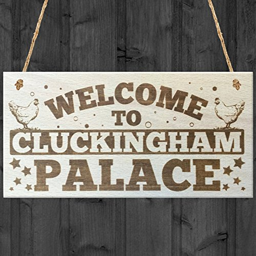 XLD Store Welcome to Cluckingham Palace Novelty...