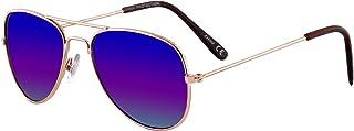 Children's Size Aviator Style Sunglasses for Kids (Boys...
