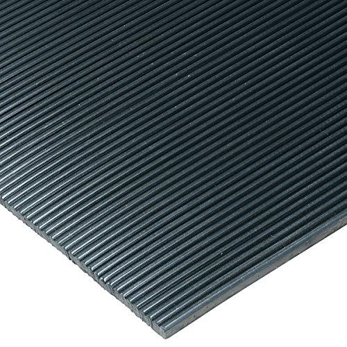 Corrugated Vinyl Black 2' x 30' Max 78% OFF Runner Indefinitely 8