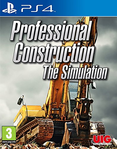 UIG - Professional Construction - The Simulation /PS4 (1 GAMES)