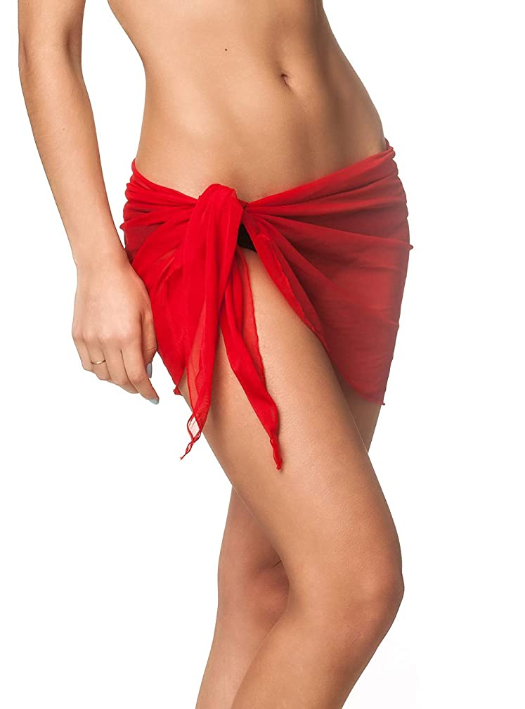 Coqueta Mesh Cover up Swimwear Beach Sarong Pareo Canga Swimsuit Wrap