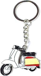 Llavero Vespa Lambretta Bandera de España   Para Guardar y Tener recogidas las Llaves   Porta llaves Original y Práctico  ...