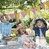 MengH-SHOP Tortenständer 3 Etagen Cupcake Ständer Einhorn Muffin Ständer aus Karton für Hochzeit Party Geburtstag Baby Duschen Kuchen Dessert Torten Etagere - 5