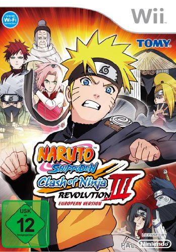 Naruto Shippuden: Clash of Ninja Revolution 3 (European Version)
