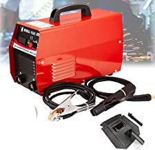 HOTSTORE Handheld Mini MMA Electric Welder Flux Core Wire Automatic Feed Welding Machine Inverter ARC Welding Machine Tool With Mask 20-160AMP /110V&220V