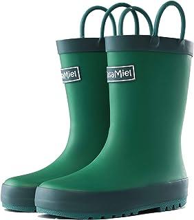 أحذية المطر للأطفال من الجنسين أحذية المطر للأولاد والبنات، أحذية المطر مصنوعة يدويًا من المطاط الطبيعي للأطفال بوتاس بارا...