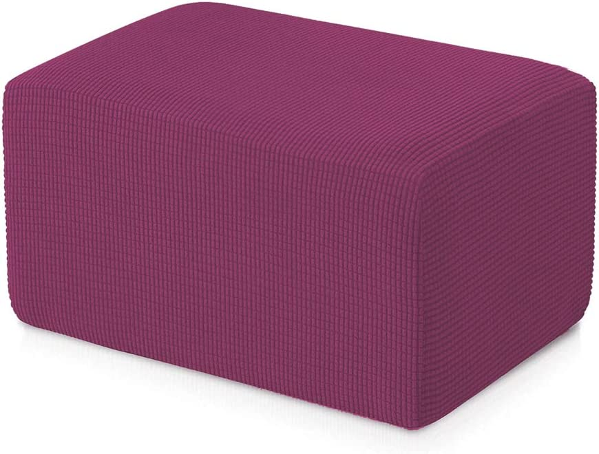 Stretch Jacquard Universal Ottoman Cover 5% OFF Easy Storage Fitted We OFFer at cheap prices Ot