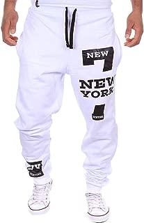 Men's Harem Casual Baggy Hiphop Dance Jogger Sweatpants Trousers