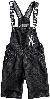 O&K Mens Fashion Denim Dungarees Stonewash Cowboy Classic Overalls Bib Overalls,5XL