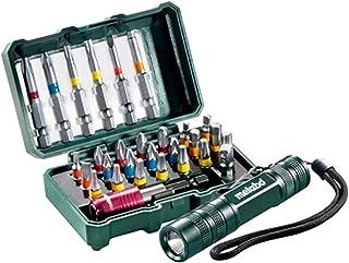 Metabo Drill bit Set 29Pieces + Mini Flashlight 626721000