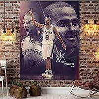 バスケットボールのスタータペストリー、ファンプラスベルベットの寝室ドミトリーの壁アート、ホームウォールのための、タペストリーの装飾(59倍78.7インチ) 7