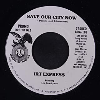 save our city now / mono 45 rpm single