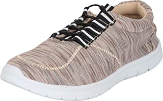 Cambridge Select Women's Low Top Lightweight Stretch Elastic Slip-On Fashion Sneaker