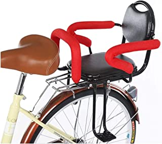 DSAEFG Bicicleta Asiento Especial para niños Asiento de Seguridad para el Asiento Trasero del automóvil del Coche de la batería Silla de la Cerca del niño