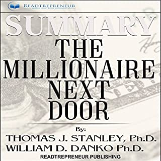 Summary: The Millionaire Next Door: The Surprising Secrets of America's Wealthy audiobook cover art