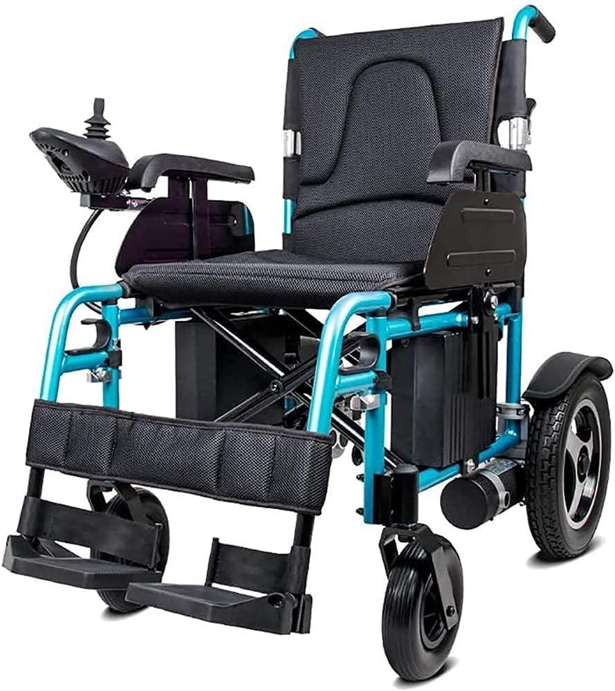 Aluminum Alloy Electric Wheelchair latest Folding favorite Lightweight Fou Smart