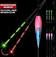 Nachtfischen Angelzubeh/ör Fischen Schwimmt About1988 Intelligente Fischen Nachtleuchtende LED-Licht automatisch erinnern Totale Drift Rod,Smart Fishing Float mit Smart Alarm Biss Haken