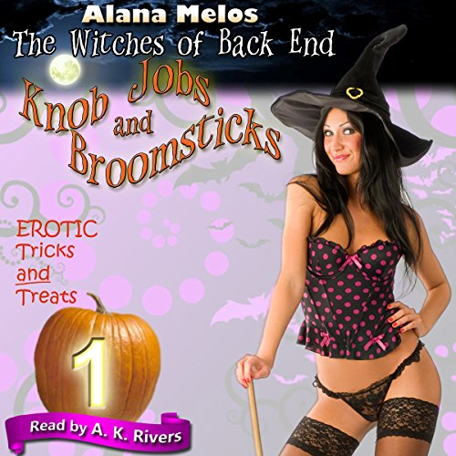 Knob Jobs and Broomsticks audiobook cover art