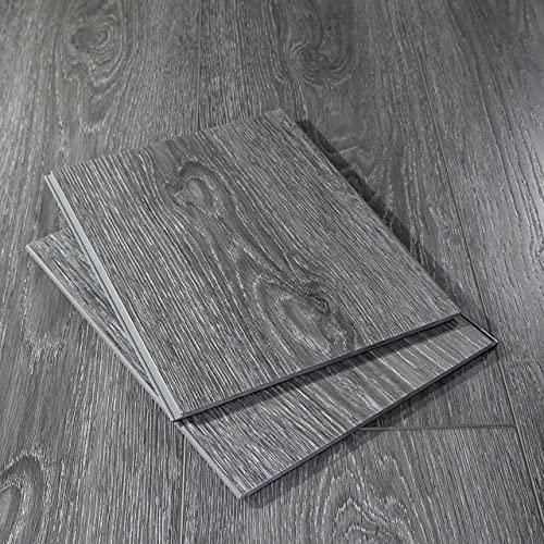 "Modin Rigid Luxury Vinyl Plank Flooring, Click, 40 Mil Wear Layer, Hafren, 12"" Cut Sample"