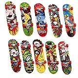 24 Mini Finger Skate, Skate de Dedos, Juguete Patinetes de Dedos para Niños  Colorido y Resistente  Niños Cumpleaños, Premios Juego Halloween Navidad Bolsas Fiesta Sorpresas Regalo Infantiles.