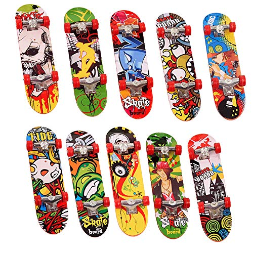 24 Mini Finger Skateboards, Kinder Fingerboard Spielzeug - Kindergeburtstag Party Mitgebsel, Mitbringsel, Gastgeschenke, Pinata, Give Aways.