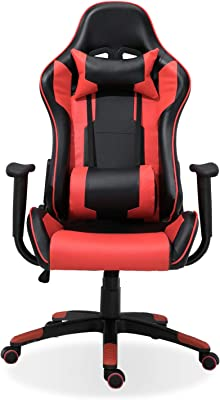 Samincom Gaming Chair Racing Style High Back Large Size PU Leather Chair Office Chair Executive and