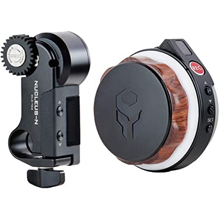 Tiltamax Nucleus-Nano: Wireless Lens Control System — Wirelessly Control The Focus or Zoom of Most DSLR or Cine-Style Lenses   Compatible with Ronin S