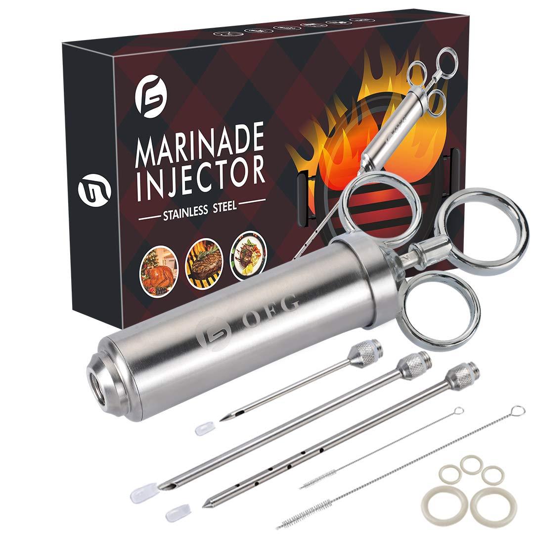 Ofargo 304 Stainless Injector Marinade Capacity