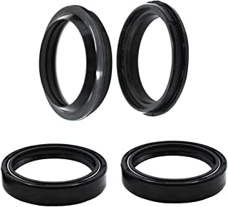 Road Passion 47x58x11mm Front Fork Oil Seal and Dust Seal Kit for Honda CRF 250 R 2004-2009/250X CRF250 X 2012-2013/250 X 2004-2009/450R 2002-2008/450 X 2012-2013/2005-2009