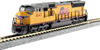 Kato N Scale SD70M Locomotive UP #4843 DCC Equipped