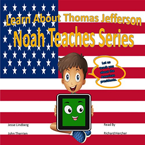 Learn About Thomas Jefferson audiobook cover art