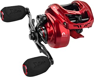 KastKing Spartacus II Baitcasting Fishing Reel, 7.2 Gear Ratio, Right Handed, Fire Engine Red