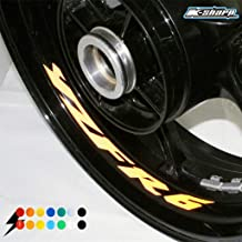 psler Motorcycle Wheel Rim Interior Decals Reflective Stickers For Yamaha YZF R6