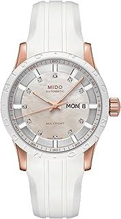MIDO - Multifort M0188303711600 - Reloj para Mujeres, Correa de Silicona Color Blanco