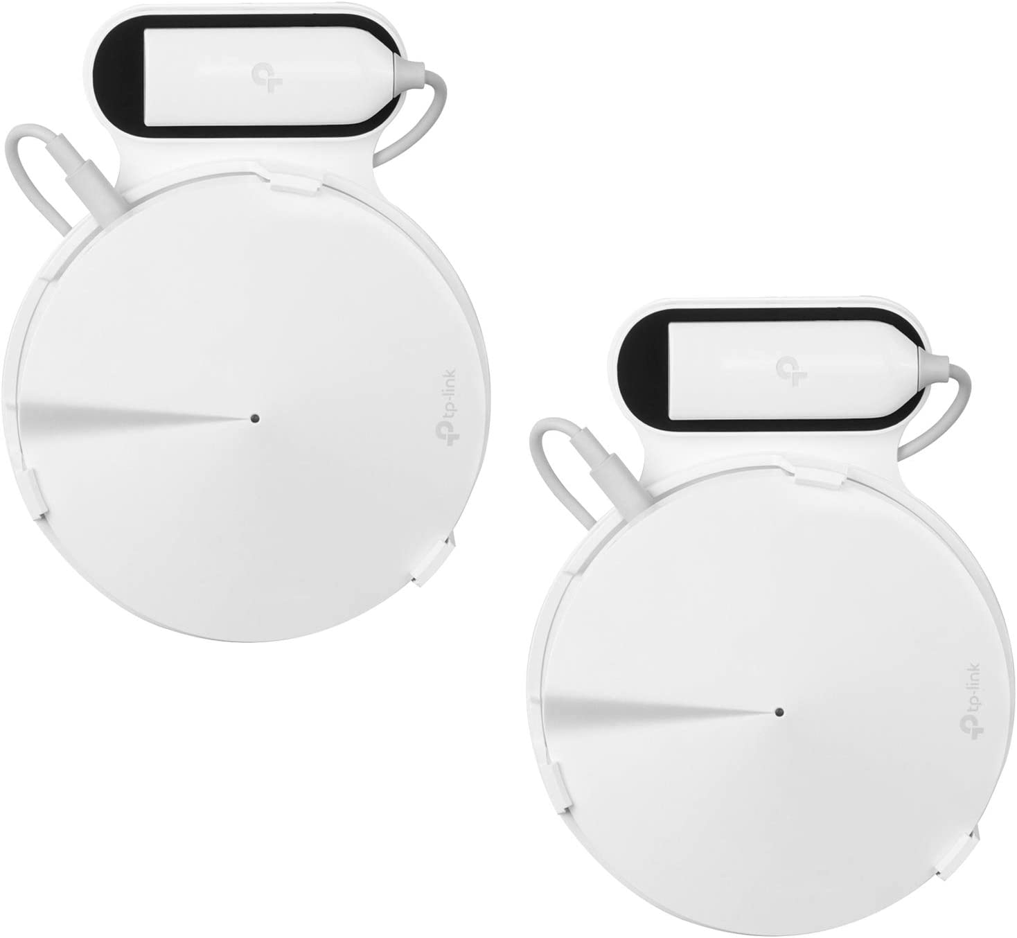TIUIHU Outlet Holder Mount for TP-Link Deco Mesh WiFi System(Deco M5) - No Cord Clutter and Save Space Deco M5 Router Bracket (2-Pack)