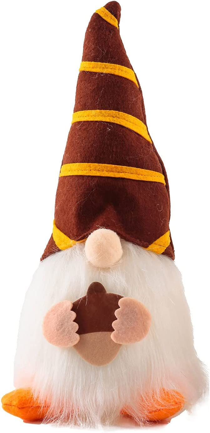 FFNMZC Halloween Gnome Doll LED security Old Rapid rise Glowing Elf Ma Faceless