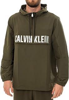 Calvin Klein ANTIVENTO Uomo Zip Woven Jacket 00GMH9O588.307