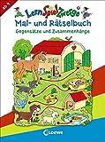 LernSpielZwerge - Mal- und Rätselbuch - Gegensätze und Zusammenhänge