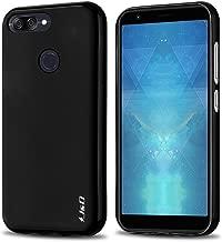 J&D Case Compatible for ZenFone Max Plus (M1) Case, [Drop Protection] [Slim Cushion] Shock Resistant Protective TPU Slim Case for ASUS ZenFone Max Plus (M1) Bumper Case - Black