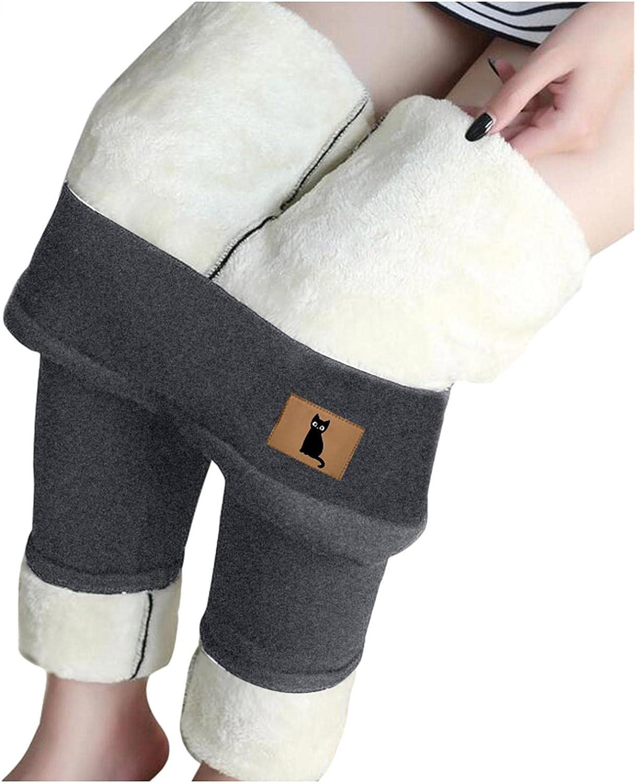 Lovor Al sold out. Warm Sherpa Fleece Lined Leggings Th Waist Women High for Award-winning store