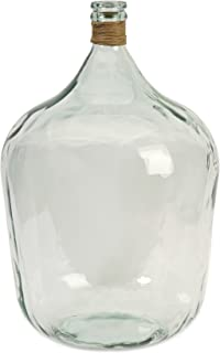 IMAX 84507 Boccioni Recycled Glass Jug, Large