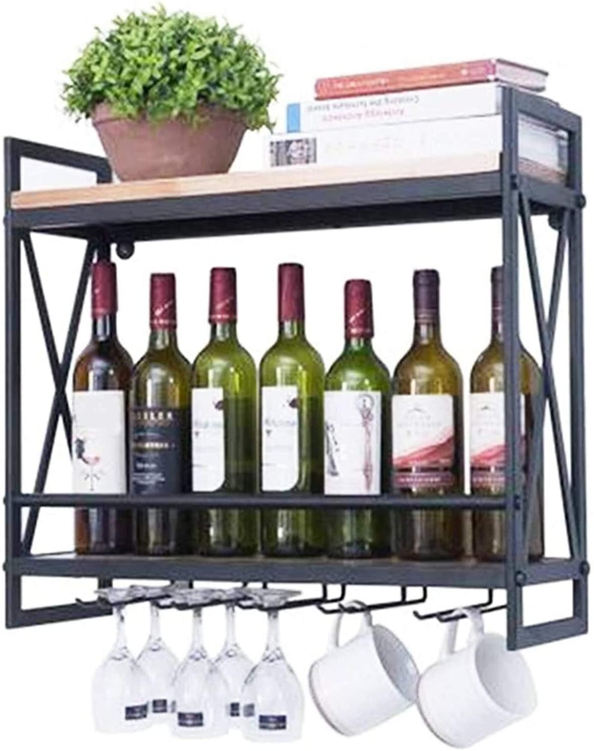 LXYYY Wine Rack Ceiling Hanging Bottle Mou Wall Mail order cheap Holder Credence