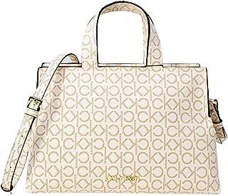 Calvin Klein Neat Handtasche elfenbein