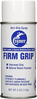 Cramer Firm Grip, Anti-Slip Grip Enhancer for Sweaty Activities Like Football, Tennis, Golf, Pole Fitness, Lyra, and Gymnastics, Grip Enhancing Powder, Helps Improve Grip During Sports, 4 Ounce