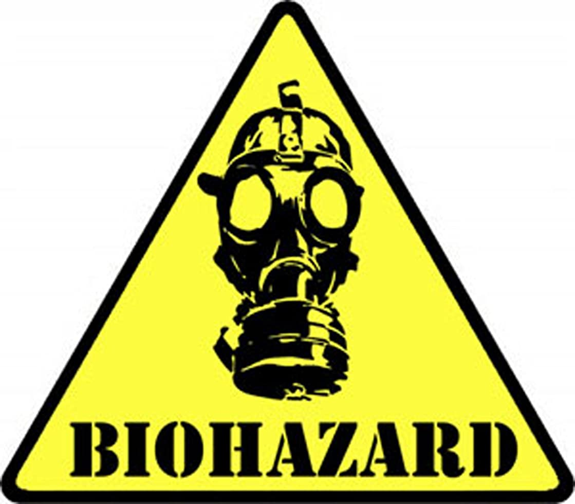 Application Biohazard Mask Patch
