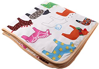 MagiDeal Non-slip Square Play Mat/Rug for Kids Baby Crawling Rugs Carpet Indoor Outdoor Play Tent Pad Soft & Thick - Horse Animal Pattern