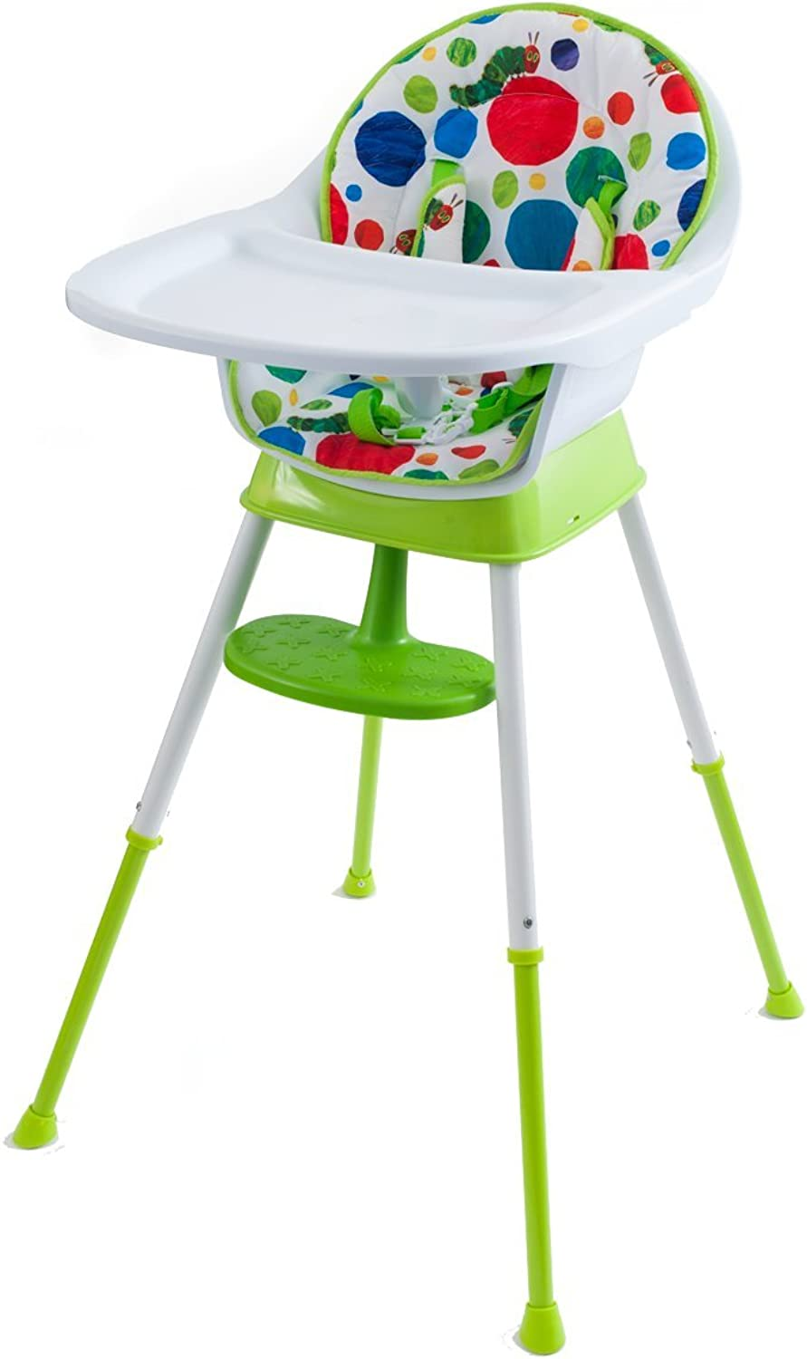 The World of Eric Carle The Very Hungry Caterpillar Happy and 3 in 1 High Chair, Playful Dots