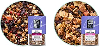 Tiesta Tea, Ginger Sweet Peach, Loose Leaf Spicy Peach Herbal Tea, 2.2oz Resealable Pouch - 25 Cups, Ginger Herbal Tea & N...